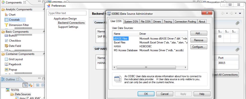 odbc data source admin