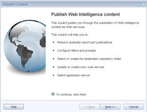 right click to create Web service